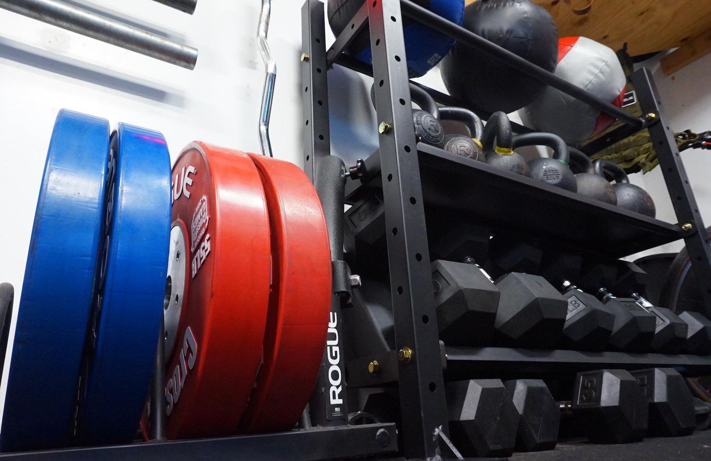 Garage gym justin gold garagedad fitness